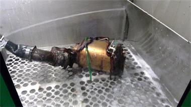 Grote foto roetfilter reinigen spoelen flushen reiniging dpf diensten en vakmensen verhuur auto en motor