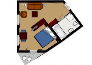 Grote foto kamer luxe kamer met balkon de koog vakantie nederland noord