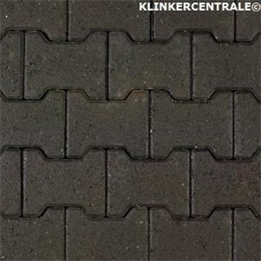 Grote foto 14075 nieuwe betonklinkers zwart h klinkers 8cm 10cm dik kom tuin en terras tegels en terrasdelen