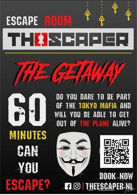 Grote foto escape room the getaway hobby en vrije tijd denksport en puzzels