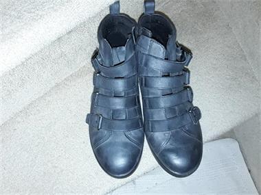 Grote foto nieuwe ecco halfhoge laarsjes kleding dames schoenen