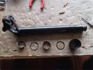 Grote foto revisie en onderhoud van specialized zadelpennen fietsen en brommers onderdelen