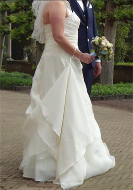 Grote foto trouwjurk te koop kleding dames trouwkleding