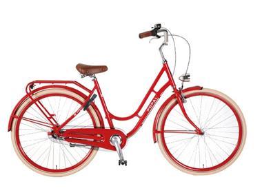 Grote foto swing damesfiets 28 inch rood fietsen en brommers damesfietsen