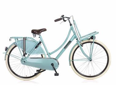 Grote foto daily dutch basic 28 inch groen fietsen en brommers damesfietsen