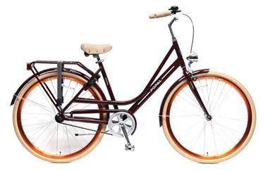 Grote foto elize 28 inch damesfiets rood fietsen en brommers damesfietsen
