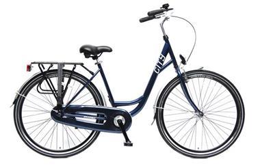 Grote foto city stadsfiets 28 inch blauw fietsen en brommers damesfietsen