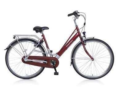 Grote foto city classic damesfiets 28 inch rood versnellingen fietsen en brommers damesfietsen