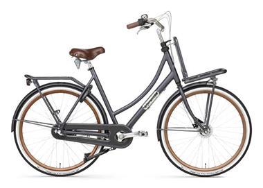 Grote foto daily dutch prestige n3 rb transportfiets 28 inch petrol bla fietsen en brommers damesfietsen
