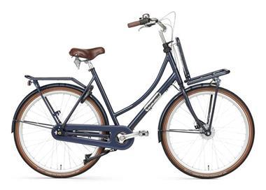 Grote foto daily dutch prestige n7 rb nd transportfiets 28 inch donker fietsen en brommers damesfietsen