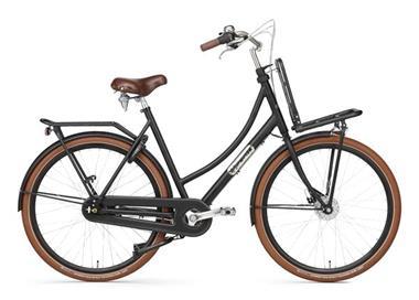 Grote foto daily dutch prestige n7 rb nd transportfiets 28 inch mat zwa fietsen en brommers damesfietsen
