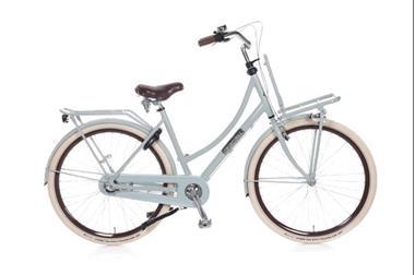 Grote foto daily dutch prestige n3 rn transportfiets shadow green fietsen en brommers damesfietsen
