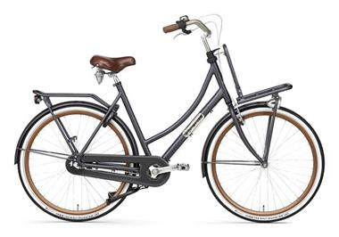 Grote foto daily dutch prestige n3 rn transportfiets petrol blauw fietsen en brommers damesfietsen