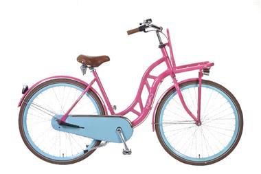 Grote foto popal transportfiets 28 inch roze fietsen en brommers damesfietsen