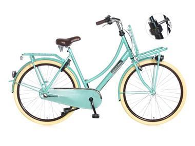 Grote foto daily dutch basic 28 inch omafiets groen fietsen en brommers damesfietsen