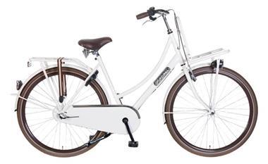 Grote foto daily dutch season 28 inch transportfiets wit fietsen en brommers damesfietsen