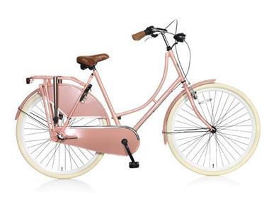 Grote foto popal omafiets s3 28 inch kristalroze fietsen en brommers damesfietsen