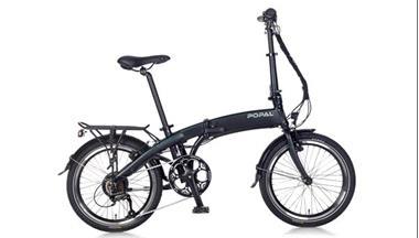 Grote foto e folt 2.0 elektrische vouwfiets 20 inch mat zwart fietsen en brommers elektrische fietsen
