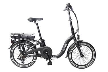Grote foto e folt 1.0 elektrische vouwfiets 20 inch mat zwart fietsen en brommers elektrische fietsen