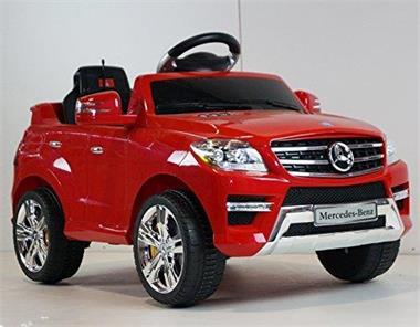 Grote foto mercedes ml350 rood 2x6v motoren afstandsbediening kinderen en baby los speelgoed