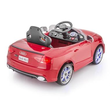 Grote foto audi rs5 metallic rood 2.4ghz full options kinderen en baby los speelgoed