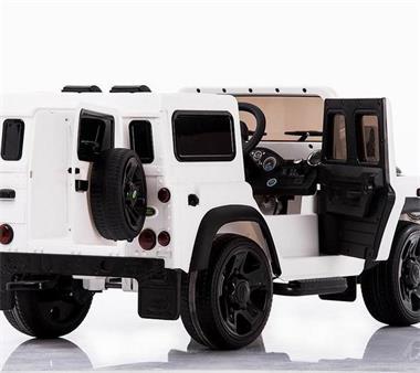 Grote foto land rover defender 12v metallic afstandsbediening kinderen en baby los speelgoed
