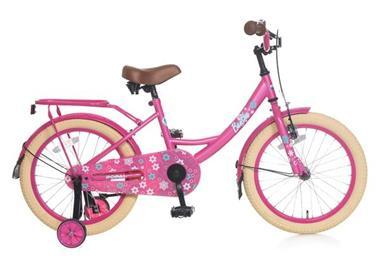 Grote foto benthe meisjesfiets 18 inch roze fietsen en brommers kinderfietsen