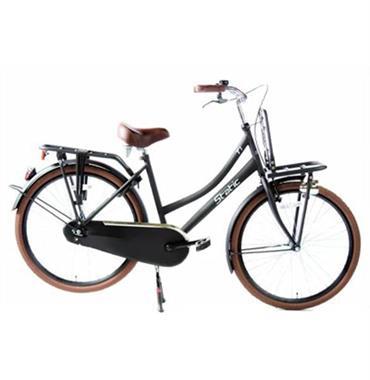 Grote foto cargo 26 inch transportfiets t1 zwart fietsen en brommers kinderfietsen