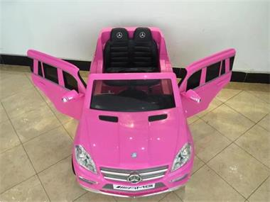 Grote foto mercedes gl63 amg roze 12v full options kinderen en baby los speelgoed
