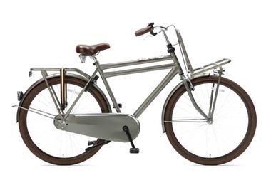 Grote foto daily dutch basic 28 inch transportfiets titanium fietsen en brommers herenfietsen