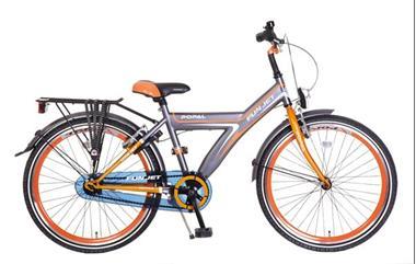 Grote foto funjet 26 inch herenfiets oranje grijs fietsen en brommers herenfietsen