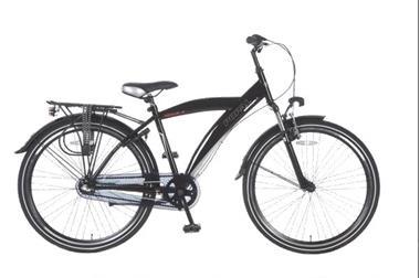 Grote foto kicks 26 inch herenfiets zwart fietsen en brommers herenfietsen