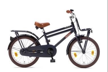 Grote foto cooper 18 inch jongensfiets donkerblauw fietsen en brommers kinderfietsen