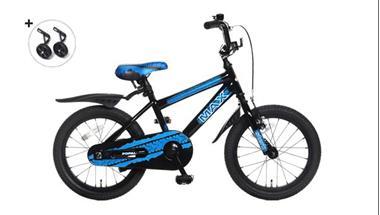 Grote foto max 16 inch jongensfiets blauw fietsen en brommers kinderfietsen