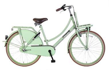Grote foto daily dutch basic 26 inch transportfiets pistache groen nex fietsen en brommers damesfietsen