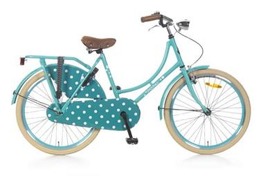 Grote foto omafiets 24 inch zeegroen fietsen en brommers damesfietsen