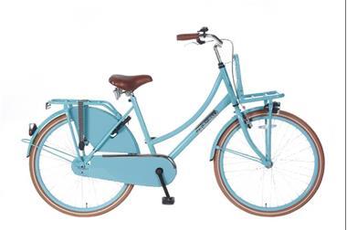 Grote foto daily dutch basic 26 inch transportfiets turquoise fietsen en brommers damesfietsen