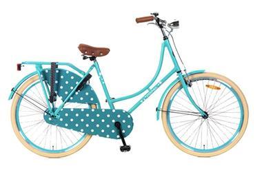 Grote foto omafiets 26 inch zeegroen fietsen en brommers damesfietsen