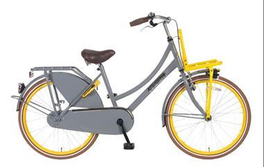 Grote foto daily dutch season 24 inch limited edition grijs geel fietsen en brommers damesfietsen