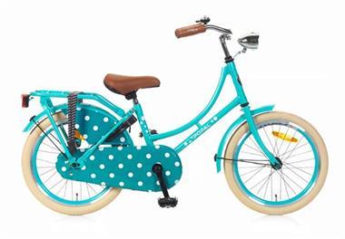Grote foto omafiets 18 inch zeegroen fietsen en brommers kinderfietsen
