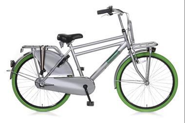Grote foto daily dutch basic 26 inch herenfiets grijs fietsen en brommers herenfietsen