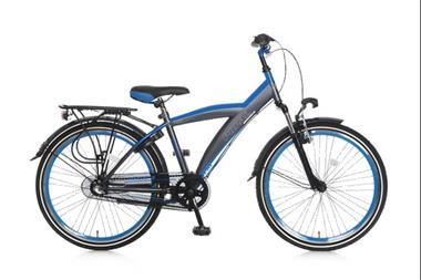 Grote foto kicks 24 inch jongensfiets blauw fietsen en brommers kinderfietsen