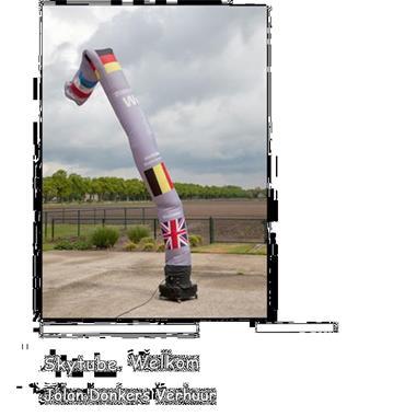 Grote foto skytube skydancer te huur hobby en vrije tijd feestartikelen verhuur