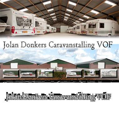 Grote foto aanhangerstalling bagagewagenstalling caravans en kamperen stalling