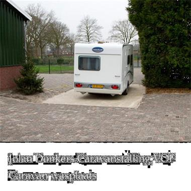 Grote foto luxe bagagewagen aanhanger vouwwagenstalling caravans en kamperen stalling