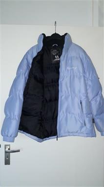 Grote foto te koop blauwe outdoor winterjas kleding dames jassen winter