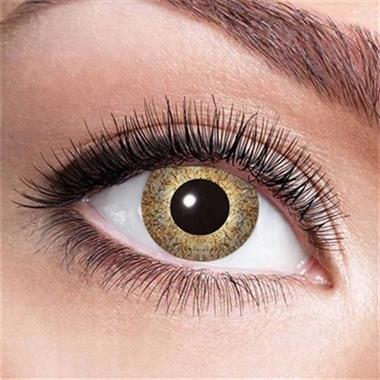 Grote foto funlenzen gouden sparkle contactlenzen kleding dames onderdelen en accessoires