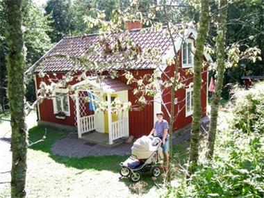 Grote foto zweedse stuga te huur vakantie europa noord