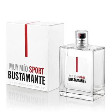 Grote foto uniseks parfum muy m o sport bustamante edt kleding dames sieraden