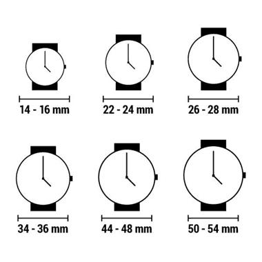Grote foto horloge heren jacques lemans 1 1751f 44 mm kleding dames horloges